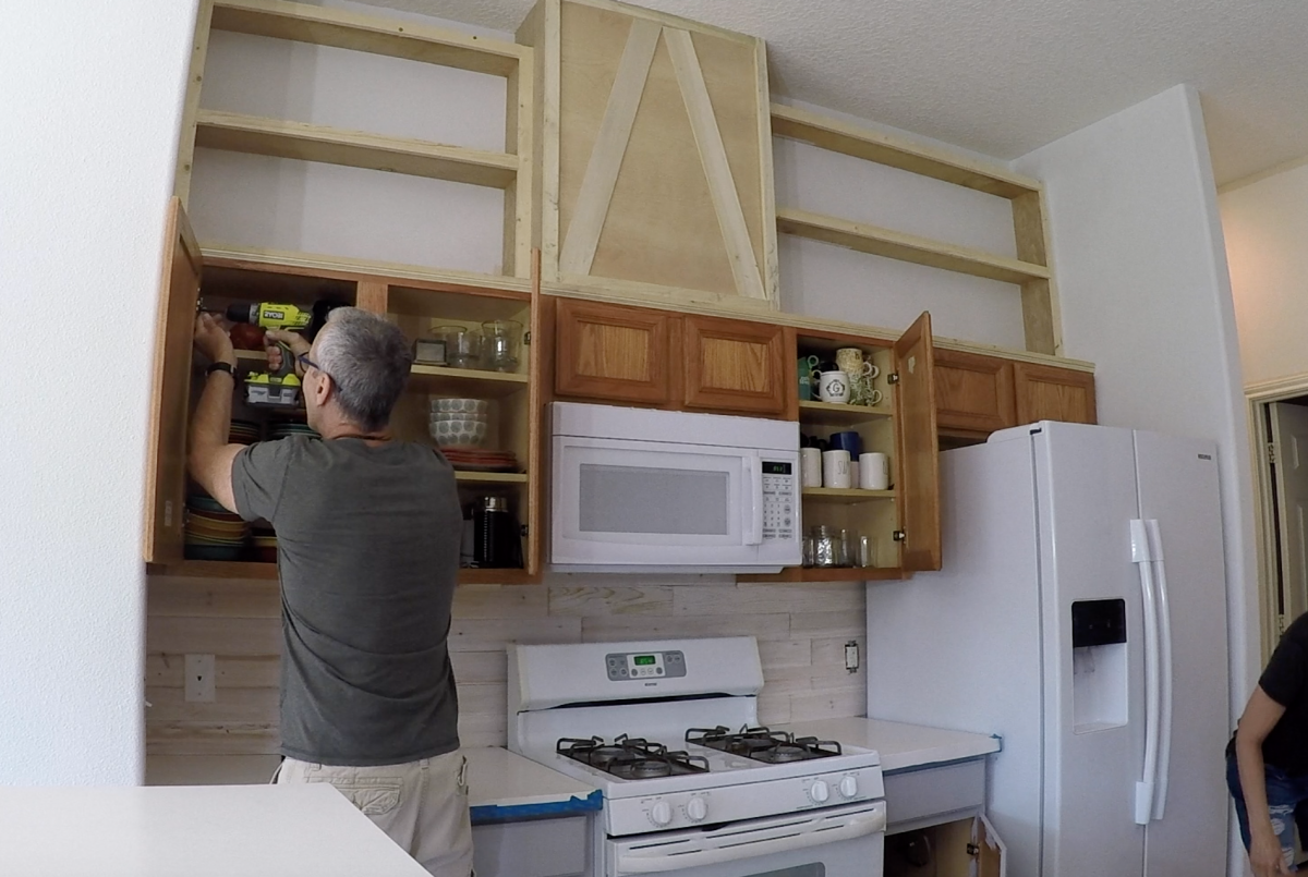 How To Easily Paint Kitchen Cabinet Shanty 2 Chic