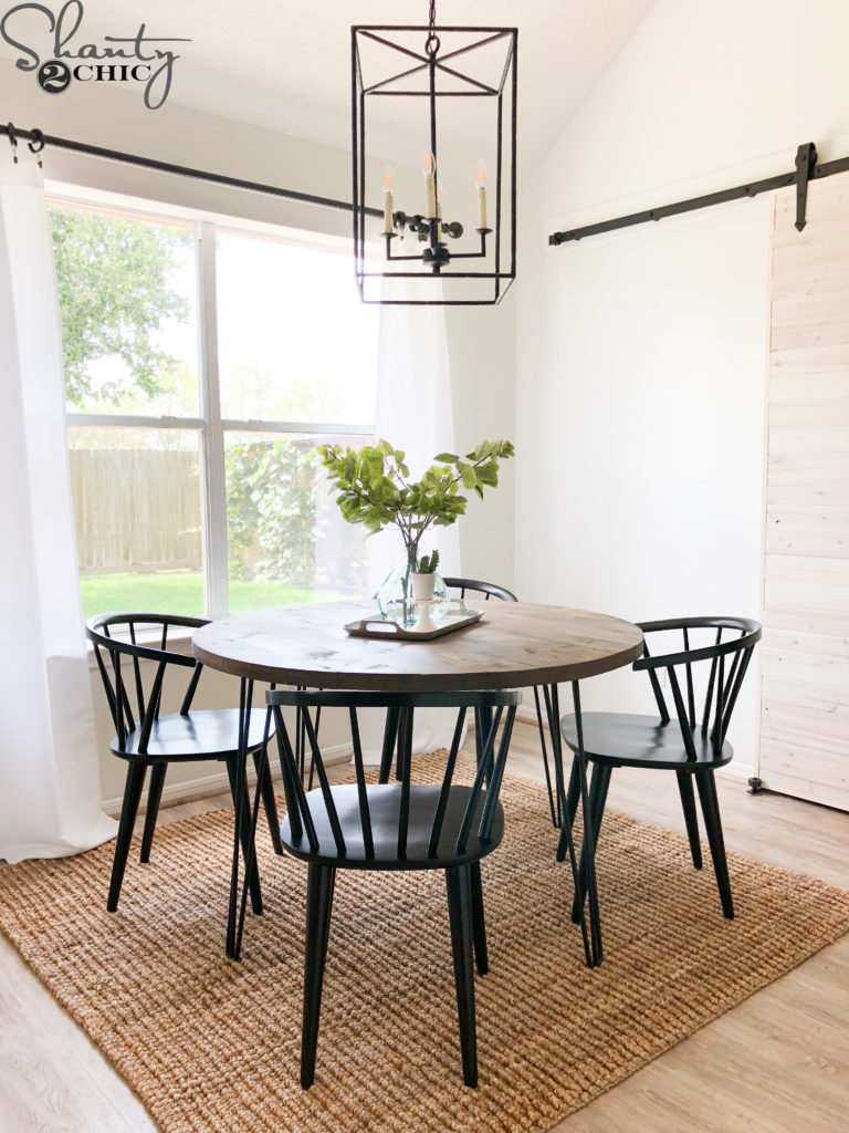 Diy Round Hairpin Table Shanty 2 Chic