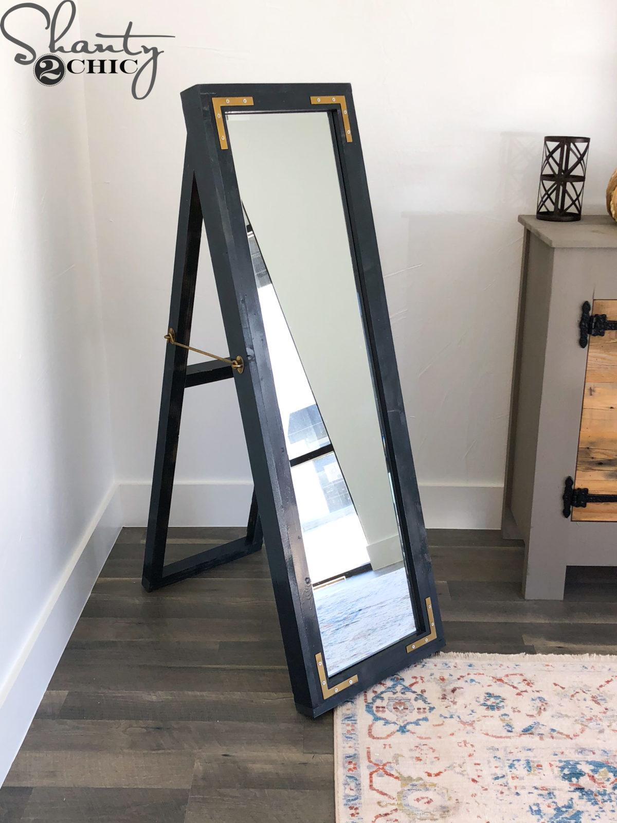 Diy Easel Mirror Shanty 2 Chic