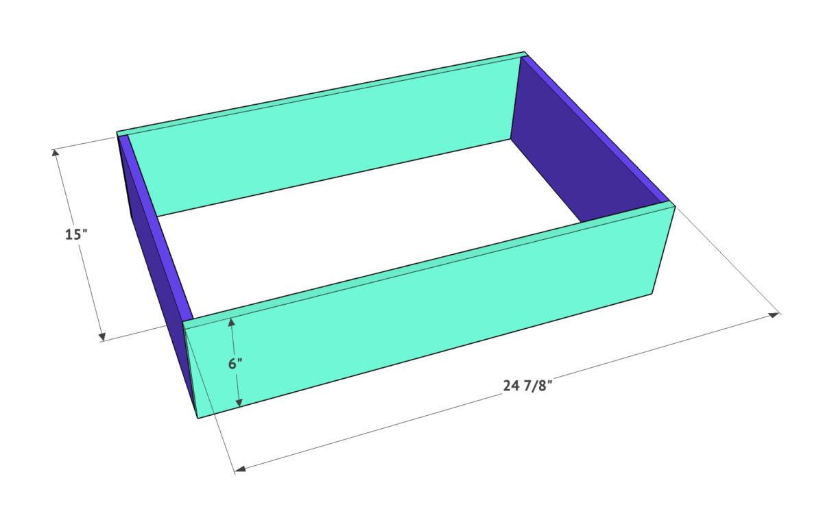 DIY Modern Farmhouse 6 Drawer Dresser