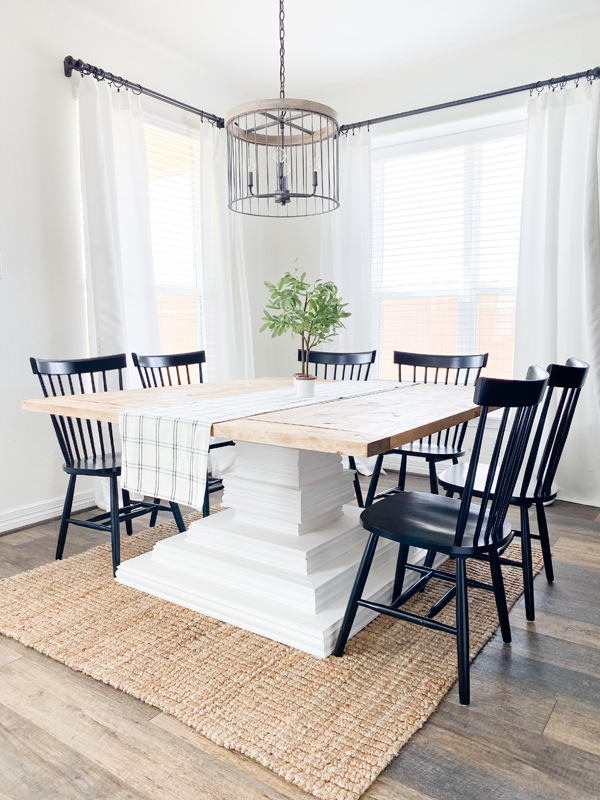 Diy Square Dining Table Shanty 2 Chic