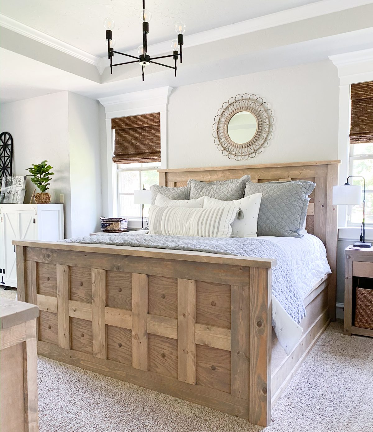 Diy King Panel Bed Shanty 2 Chic
