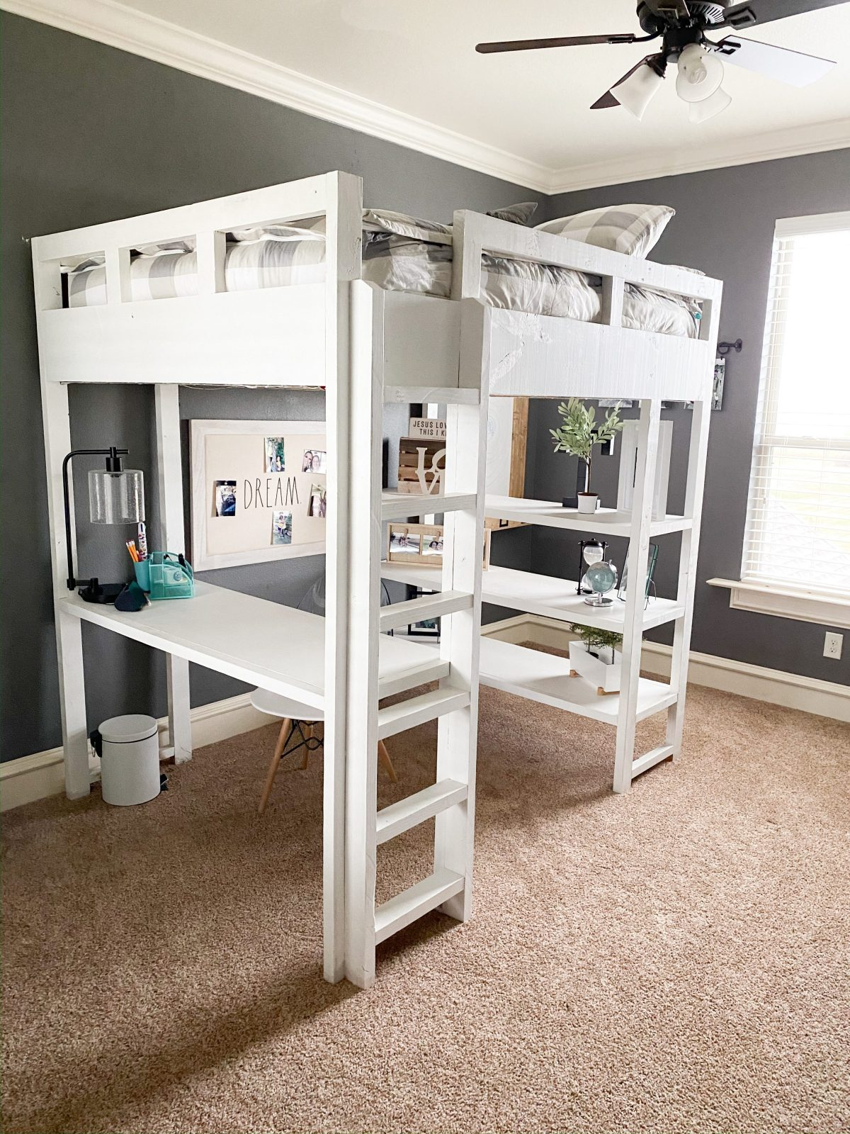 Diy Loft Bed Shanty 2 Chic