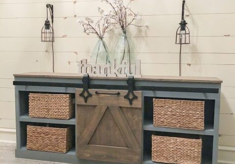 Barn Door Console by Shanty2Chic