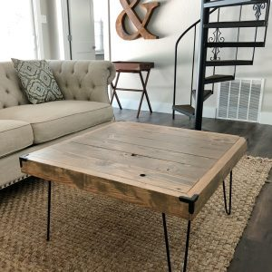 Hairpin Coffee Table by Shanty2Chic Free Plans